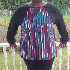 Calvin Klein sz 3x blouse